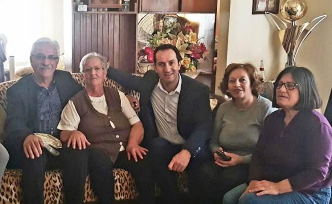 CTP Kadın Örgütü yaşlıları ziyaret etti