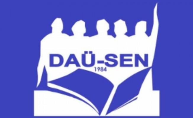 DAÜ-SEN'de yeni yönetim...