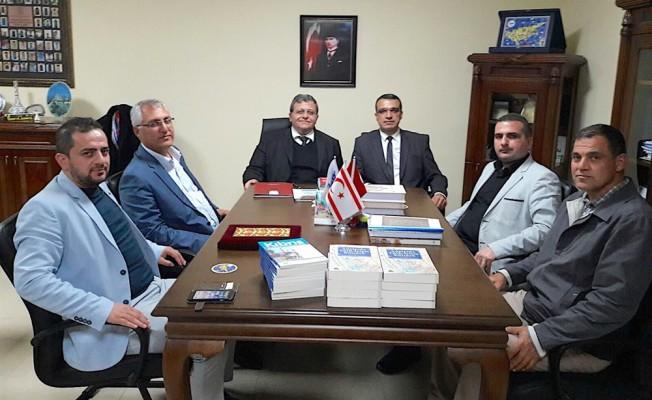 Eğitimciler Sendikası, Kıbrıs Sosyal Bilimler Üniversitesi'ni ziyaret etti