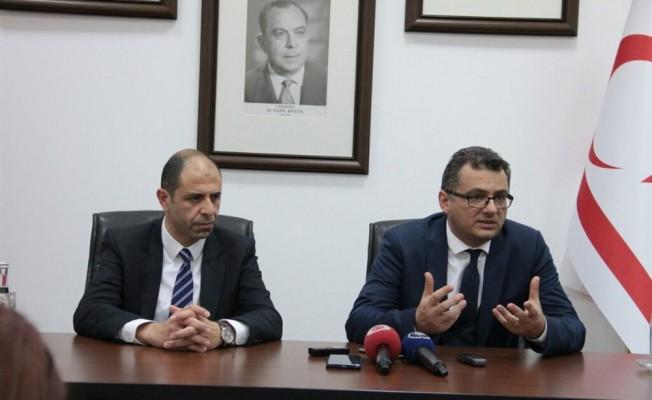Erhürman ve Özersay Ankara temaslarına başlıyor