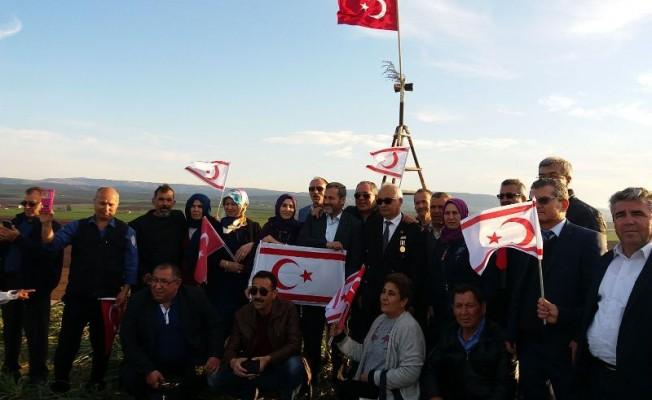 Gazimağusa'dan Zeytin Dalı Harekatı'na destek