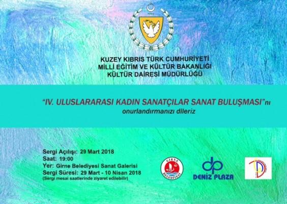 Kadın Sanatçılar Sanat Buluşması Sergisi yarın