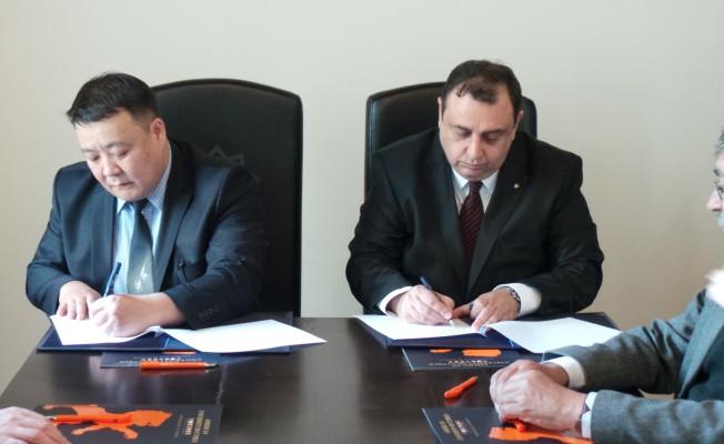 KAÜ ile Moğolistan Bilim ve Teknoloji Üniversitesi arasında protokol