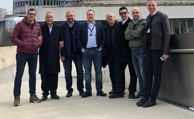 Kıbrıslı Türk gazeteciler BMW'yi ziyaret etti