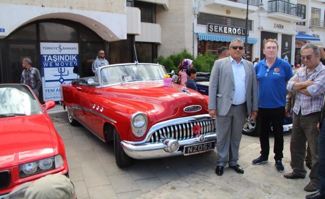 Klasik otomobiller G.Mağusa'da sergilendi...