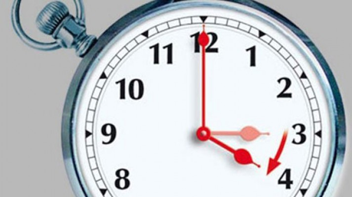 Saatlerinizi bu akşam ileri almayı unutmayın