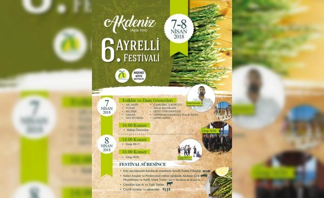 6. Akdeniz Ayrelli Festivali hafta sonu