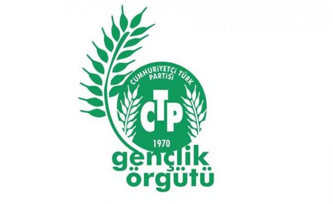 CTP Gençlik örgütünden Akıncı'ya tepki!