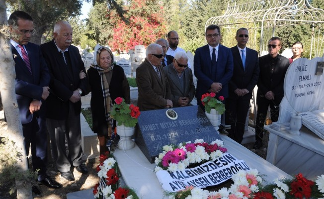 CTP'nin kurucularından Berberoğlu anıldı