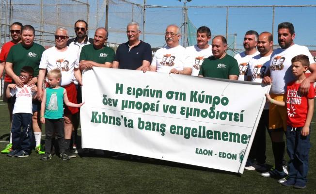 İki toplumlu futbol maçı düzenlendi