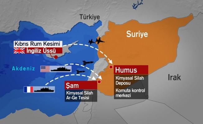 Kıbrıs'tan 4 savaş uçağı katıldı!
