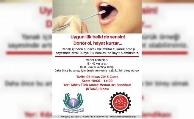 KTAMS'tan Donör kampanyasına destek