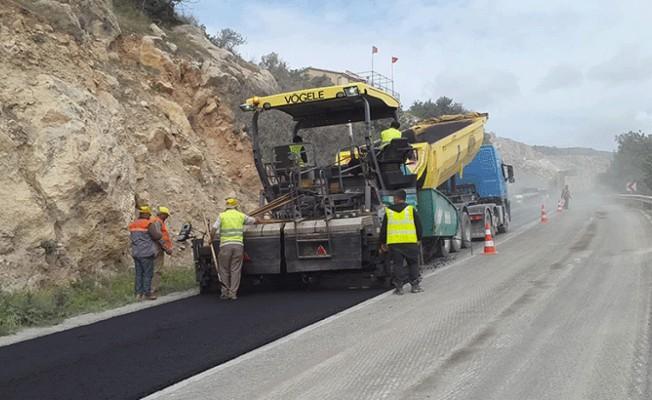 Lefkoşa-Girne yolundaki çalışmalar durduruldu!