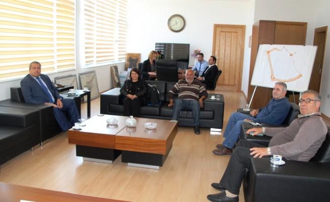 Mormenekşe Enginar Festivali Komitesi Arter'i ziyaret etti