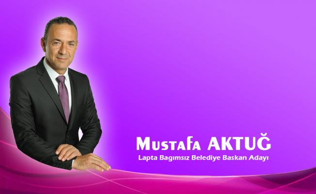 Mustafa Aktuğ adaylığını açıklıyor...