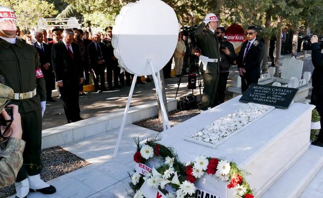 Mustafa Çağatay kabri başında anıldı