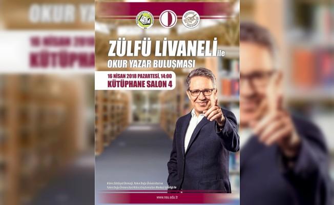 Zülfü Livaneli YDÜ'de okurlarıyla buluşuyor