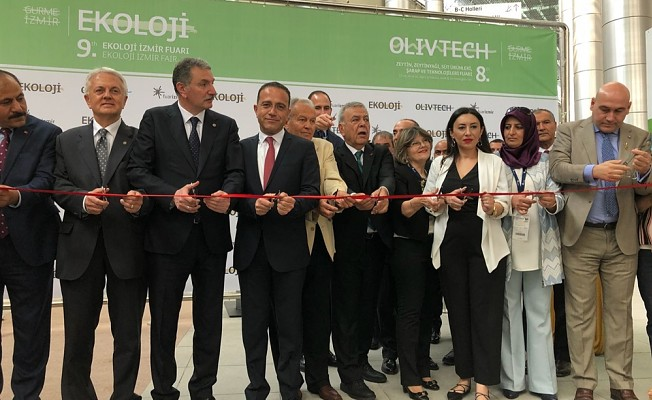 """""""9.Ekoloji İzmir Fuarı""""nda KKTC ilk kez stant açtı."""