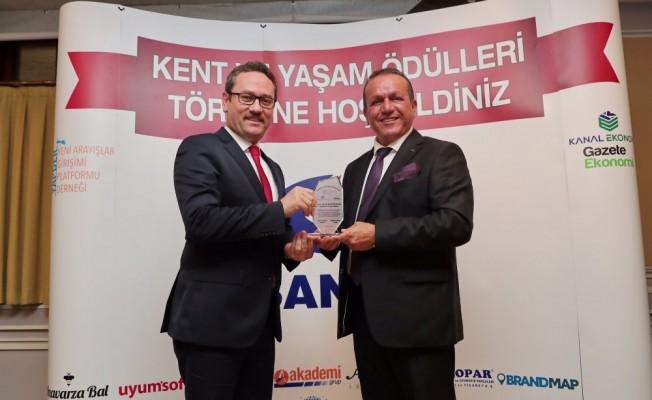 Ataoğlu'na Turizm Tanıtma Ödülü