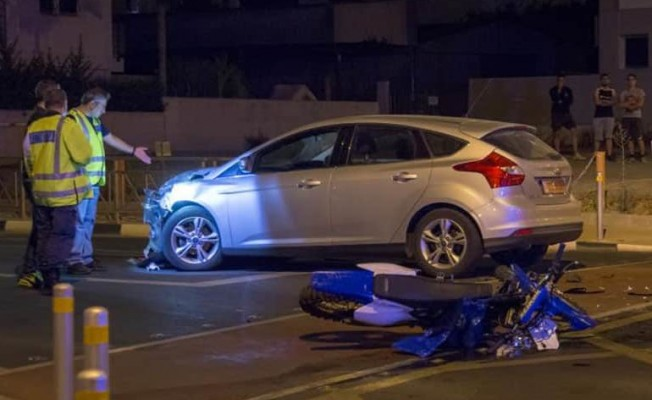 Güney'de 18 yaşındaki genç motor kazasında öldü!