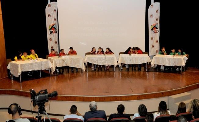 Yarışma'nın birincisi Yedidalga İlkokulu