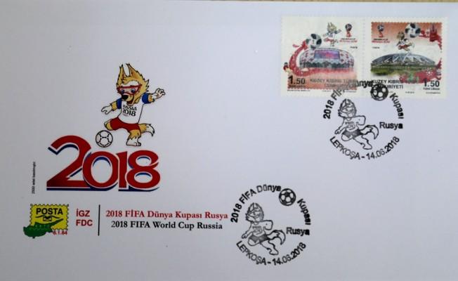 """""""2018 FİFA Dünya Kupası Rusya"""" konulu anma pul serisi çıktı"""