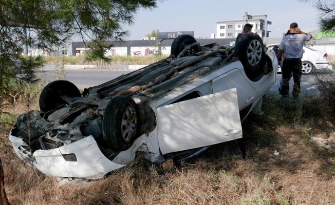 Girne-Lefkoşa anayolundaki kaza korkuttu