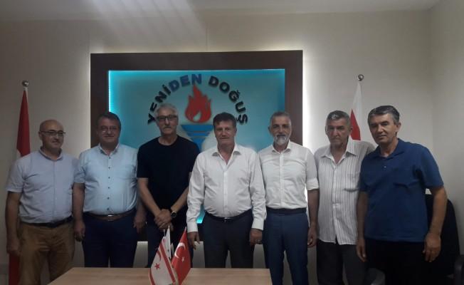 El-Sen yetkilileri YDP'yi ziyaret etti
