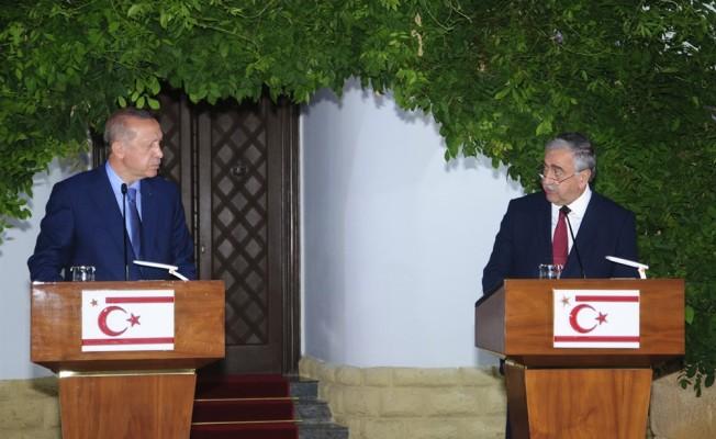 Erdoğan: KKTC'nin azınlık olmasına izin vermeyeceğiz!