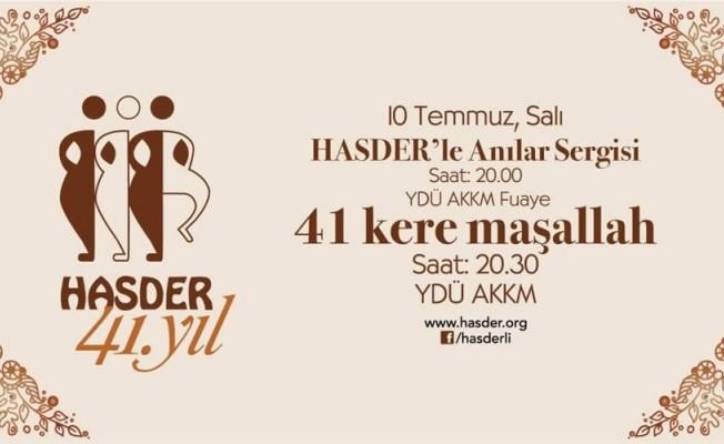 HASDER'in 41. kuruluş yıldönümü