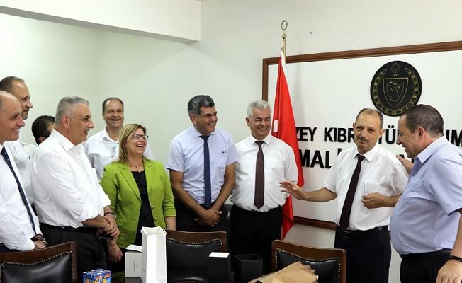 Havutcu, Maliye Bakanlığına veda etti.