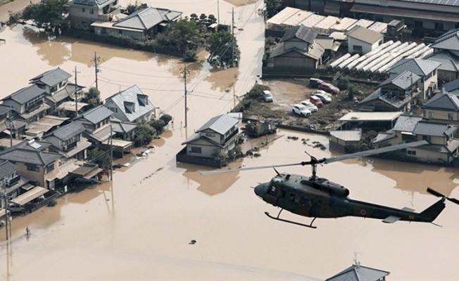 Japonya'da sel felaketi... 120 Ölü