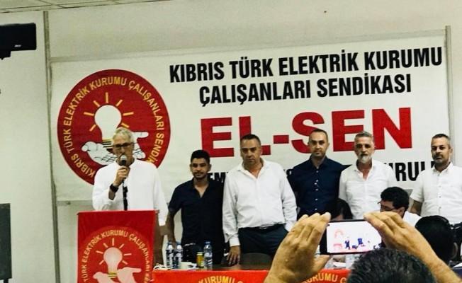 Kubilay Özkıraç El-Sen Başkanı oldu...
