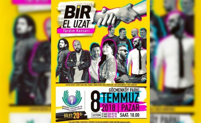"""Lösemili çocuklar yararına """"Bir El Uzat"""" konseri düzenleniyor"""