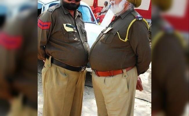 Obez polislere zayıflama şartı
