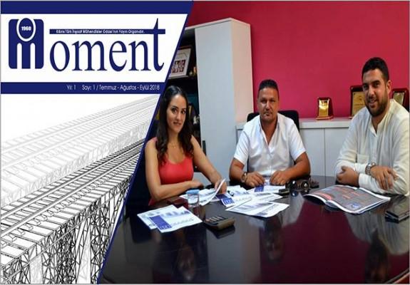 """""""Moment"""" dergisi yayın hayatına başlıyor"""