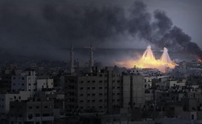 ABD fosfor bombasıyla vurdu!