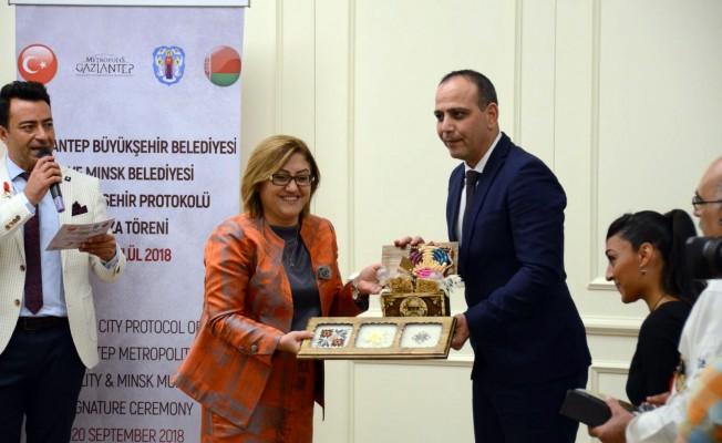 Harmancı, Gaziantep'te Gastronomi Festivali'ne katıldı