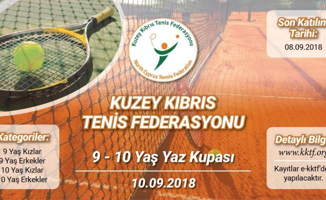 KKTF 9-10 Yaş Yaz Kupası başlıyor