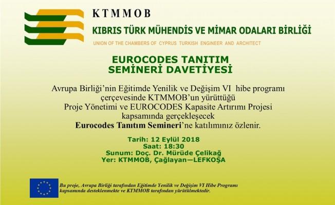 KTMMOB tanıtım semineri düzenliyor