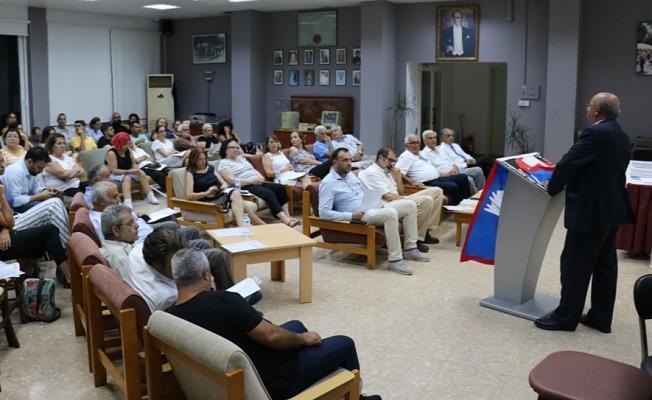 TDP Lefkoşa İlçe Başkanlığı'na Halil Hızal seçildi.