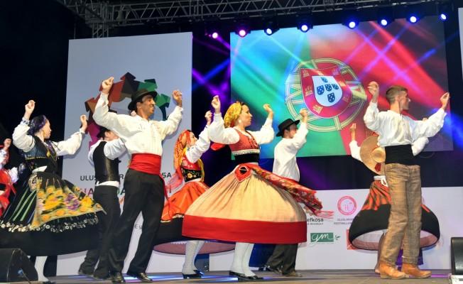 Uluslararası Lefkoşa Halk Dansları Festivali sona erdi