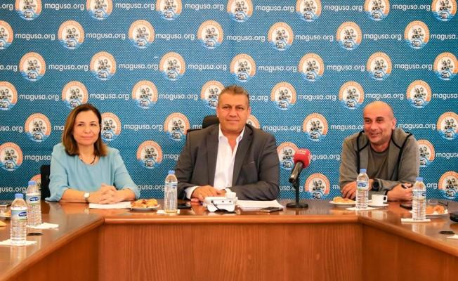 Dokuz Eylül Üniversitesi öğrencileri Gazimağusa Belediyesi'ni ziyaret etti.