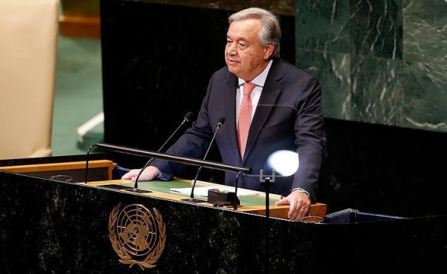 """Guterres: """"Kıbrıs'ta çözüm umutları hala canlı"""""""