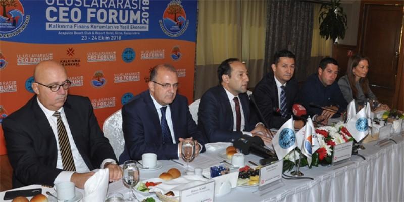 """""""Kalkınma Finans Enstitüleri ve Yeşil Ekonomi  Forumu"""" başladı"""