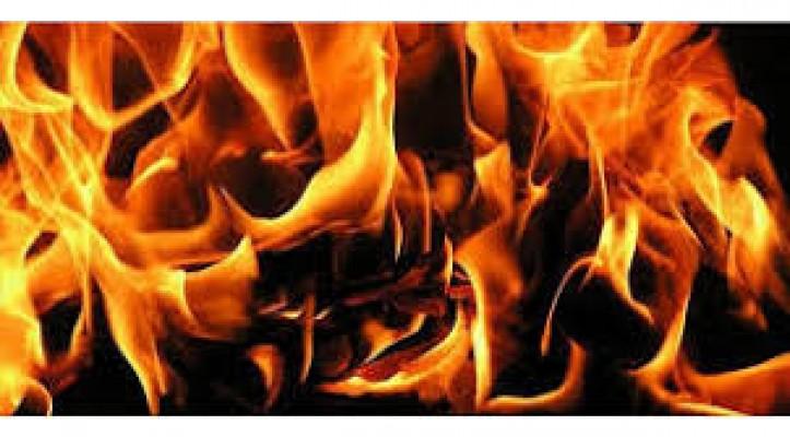 Girne ve Gönyeli'de yangın...