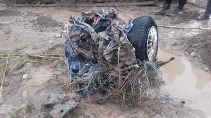 Kayıp araç Doğanköy Göleti'nde bulundu