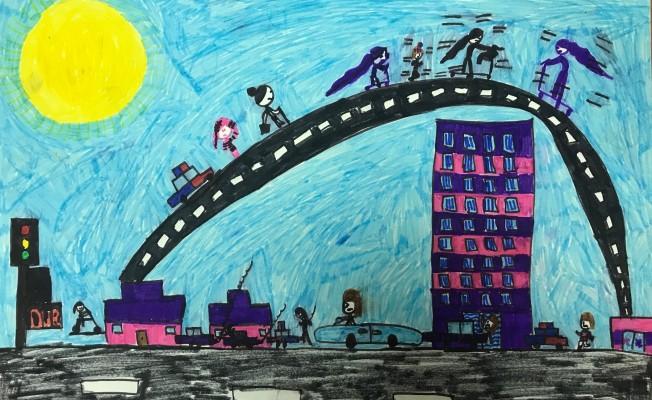 DAÜ KENT-AG Resim yarışması gerçekleştirildi