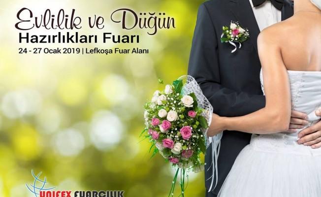 Evlilik ve Düğün Hazırlıkları Fuarı, 24 – 27 Ocak tarihlerinde