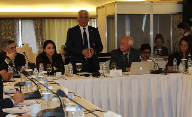 Kıbrıs Türk Belediyeler Birliği toplantı düzenledi